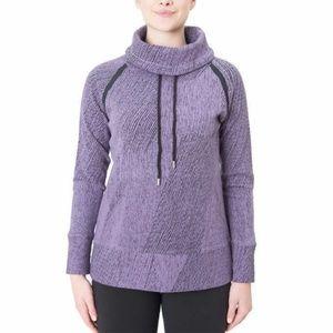 Kirkland Ladies' Jacquard Pullover Sweater Purple